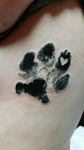Paw Print Tattoos 15