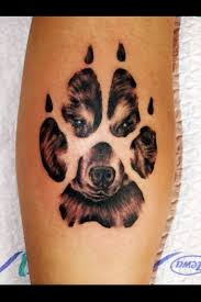 Paw Print Tattoos 21