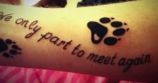Paw Print Tattoos 22