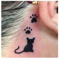 Paw Print Tattoos 56