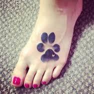 Paw Print Tattoos 60