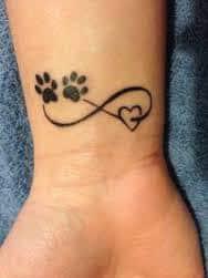 Paw Print Tattoos 7