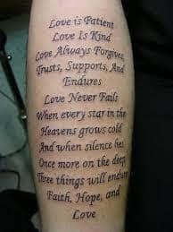 Scripture Tattoos 43