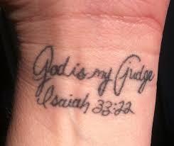Scripture Tattoos 6