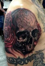 Spider Web Tattoos 41