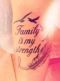 Strength Tattoos 14
