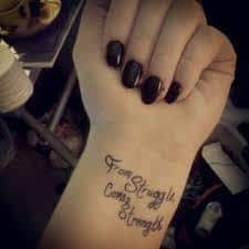 Strength Tattoos 30