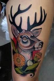 Deer Tattoos 10