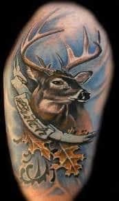Deer Tattoos 21