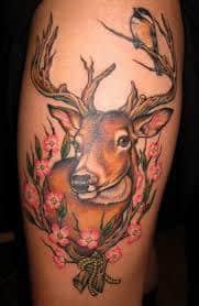 Deer Tattoos 22