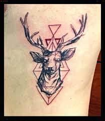Deer Tattoos 25