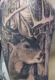 Deer Tattoos 36