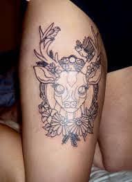 Deer Tattoos 37