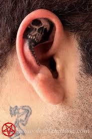 Ear Tattoos 14