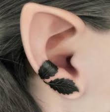 Ear Tattoos 17