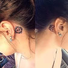 Ear Tattoos 19