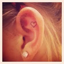 Ear Tattoos 44