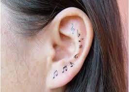 Ear Tattoos 8