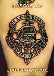 Military Tattoos 20