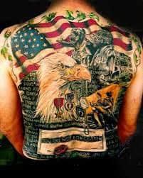 Military Tattoos 31
