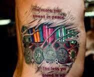 Military Tattoos 53