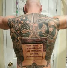 Military tattoos ideas design meaning for Army tattoos and meanings
