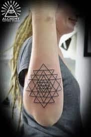 Sacred Geometry Tattoos 24