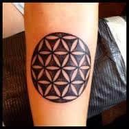 Sacred Geometry Tattoos 34