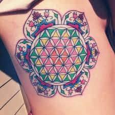 Sacred Geometry Tattoos 37