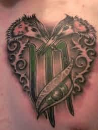Virgo Tattoos 4