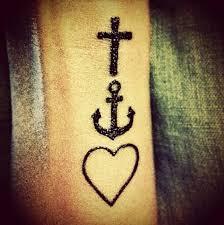 Faith Hope Love Tattoos 7