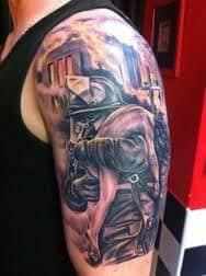 Firefighter Tattoos 10