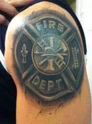 Firefighter Tattoos 11