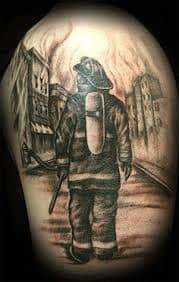 Firefighter Tattoos 13