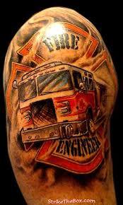 Firefighter Tattoos 16