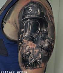 Firefighter Tattoos 17