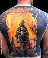 Firefighter Tattoos 18