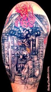 Firefighter Tattoos 26