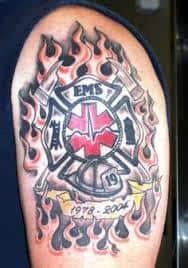 Firefighter Tattoos 28