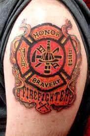 Firefighter Tattoos 3