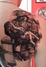 Firefighter Tattoos 30