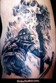 Firefighter Tattoos 4