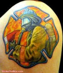Firefighter Tattoos 43
