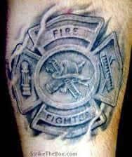 Firefighter Tattoos 47
