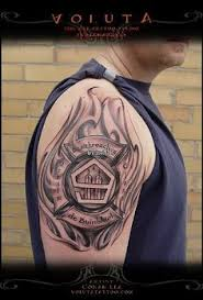 Firefighter Tattoos 48