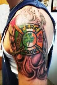 Firefighter Tattoos 5