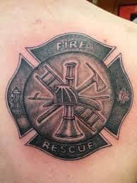 Firefighter Tattoos 51