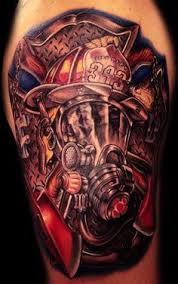 Firefighter Tattoos 52