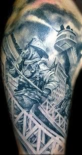 Firefighter Tattoos 7
