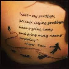 Peter Pan Tattoos 10